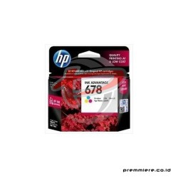 HP 678 TRI-COLOR INK CARTRIDGE [CZ108AA]